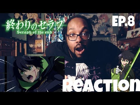 NO MAN LEFT BEHIND! SERAPH OF THE END EPISODE 8 REACTION