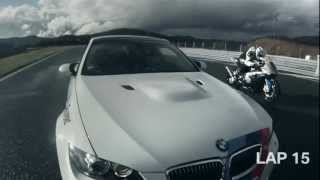 6. BMW M3 V BMW S1000 RR Drag Race Commercial Carjam TV HD 2013