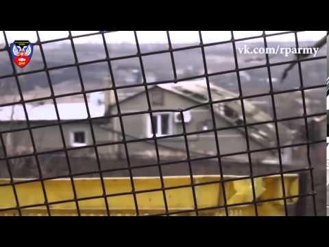Широкино  Уничтожение снайперов батальона  Азов (видео)