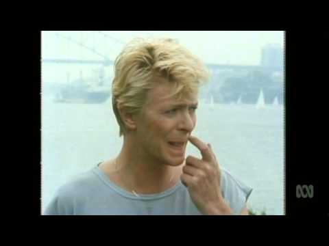 Countdown (Australia)- Molly Meldrum Interviews David Bowie- March, 1983