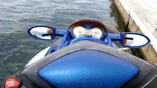 7. For Sale: 2002 SeaDoo GTX 155 hp 4 Tec start up on the water