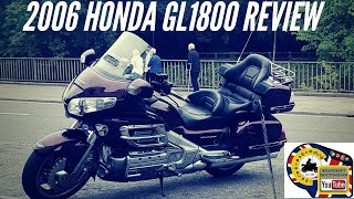 9. Honda GL1800 Gold wing review