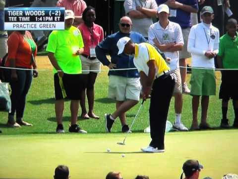 Tiger Woods Putting (2013 Masters) – Analysis by Brad Faxon
