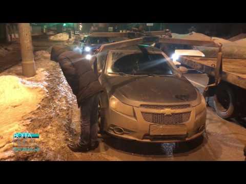 """Появилось видео задержания полицейского с участием """"Ночного патруля"""""""