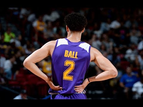 Lonzo Ball's Top 10 Plays from the Las Vegas Summer League (видео)