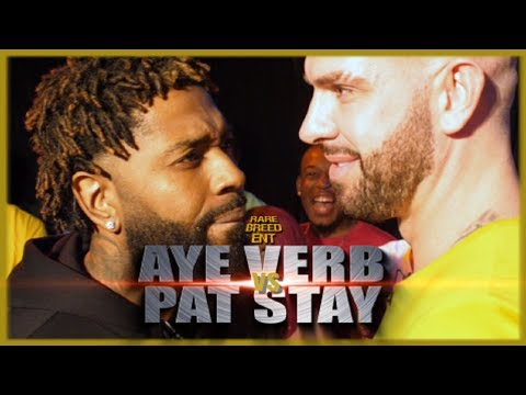 AYE VERB VS PAT STAY RAP BATTLE - RBE