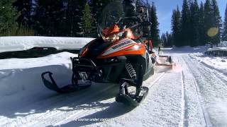 7. Arctic Cat 2016 Utility Chassis-Suspension