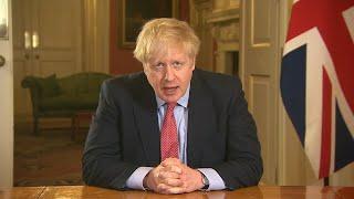 video: Biggest lockdown of society in British history ordered by Boris Johnson