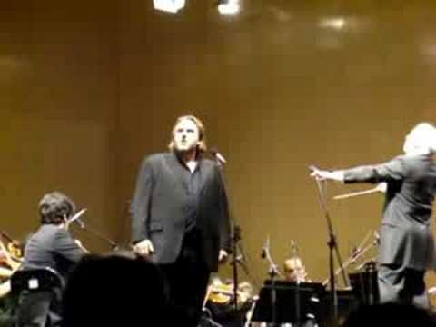Wagner, La Valquiria [Die Walküre], Barenboim, Madrid 2008