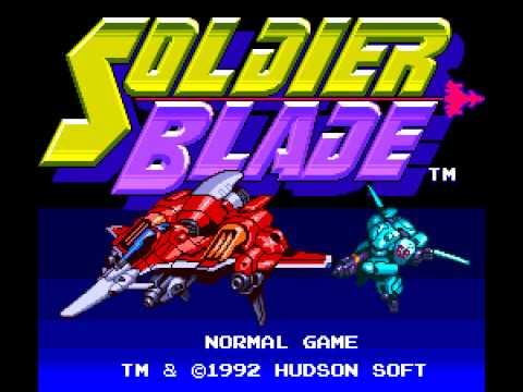 soldier blade pc engine rom