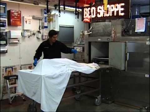 La casa de autopsias, una profesión extrema