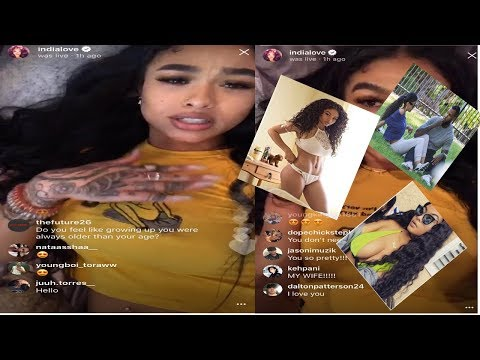India Love asks for help?? 🤔says her father gave up on her (ADMITS TO FAST LIFE) #DailyLIVEing