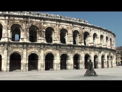 le splendide antichità romane di nìmes