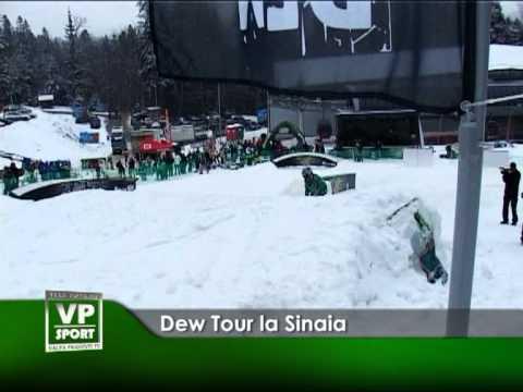 Dew Tour la Sinaia