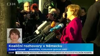 Německo: podpis koaliční smlouvy