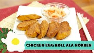 Video Hokben's Chicken Egg Roll Recipe MP3, 3GP, MP4, WEBM, AVI, FLV November 2018