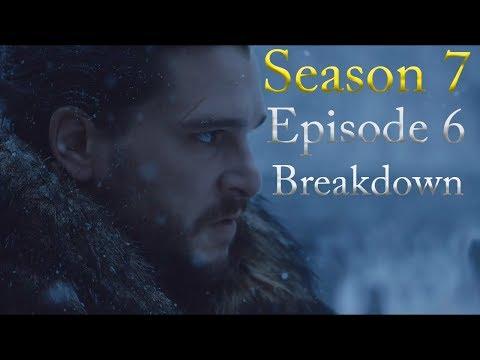 Game of Thrones Season 7 Episode 6 Breakdown (видео)