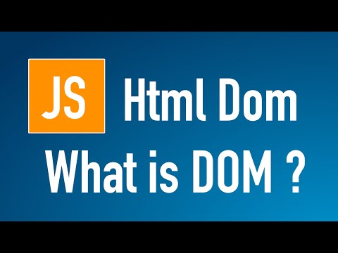 Learn JS HTML Dom In Arabic #01 - What Is DOM?