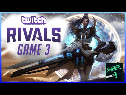 xFSN Saber - Twitch Rivals Game 3 vs TF Blade, Cowsep, and Yamikaze