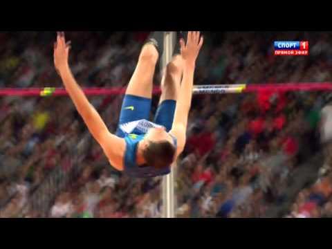 2.33 Bohdan Bondarenko silver HIGH JUMP WORLD CHAMIONSHIP Beijing 2015 final man