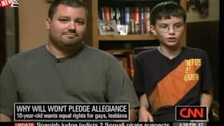 10 Year Old Explains Why He Won't Pledge Allegiance To The Flag