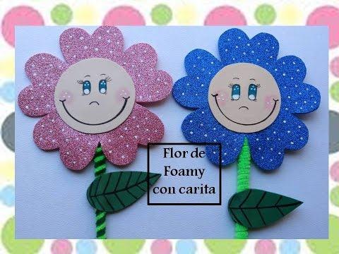 foamy - come creare dei simpatici fiorellini colorati