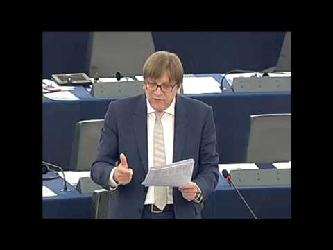 European Union - Speech by Guy Verhofstadt [ ALDE MEP / Alliance of Liberals and Democrats for Europe / European Parliament ] on : Debate on the future of the European Union ...