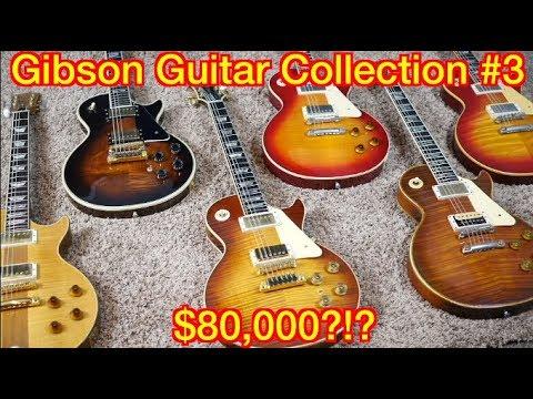 $80,000 Gibson Guitar Collection!   Rare Norlin Era Les Paul Models   Part 3