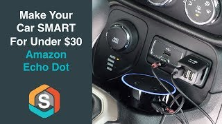 Download Video Make your car Smart for under $30 with the Echo Dot - Echo Auto MP3 3GP MP4