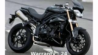 8. 2008 Triumph Speed Triple Features & Details