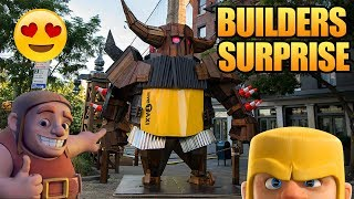 The builder has been found in NYC! Where he left a huge surprise for them! Plus some talk about the 100k subscriber giveaway...