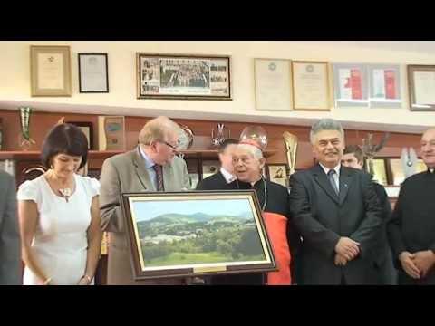 Ks. Prymas Józef Glemp z wizytą w Limanowej [www.tv28.pl]