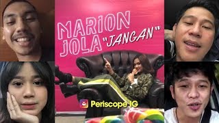 "Video Marion Jola ""Jangan"" feat Rayi RAN (Launching single) MP3, 3GP, MP4, WEBM, AVI, FLV Juni 2018"