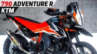 9. NEW KTM 790 Adventure R - Awesome Enduro Motorcycle For ADV Customers EICMA 2017