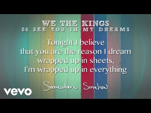 See You in My Dreams (Lyric Video)