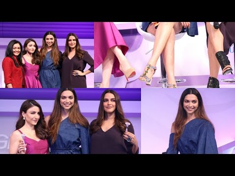 Deepika Padukone At Launch Of Gillette Venus Breeze