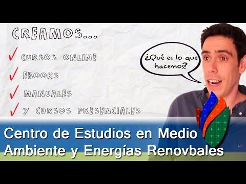 ¿Qué es CEMAER? Centro de Estudios en Medio Ambiente y Energías Renovables