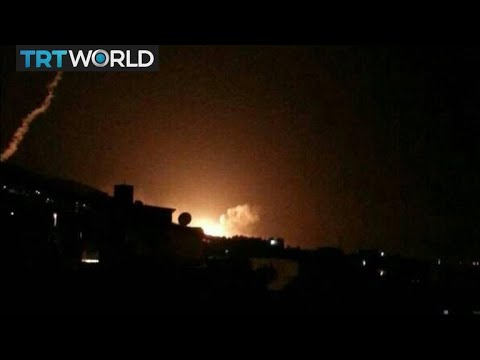 Breaking News: US, UK and France launch precision strikes on Syria
