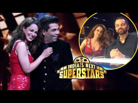 Kangana Ranaut Karan Johar HUG Moment On India's N