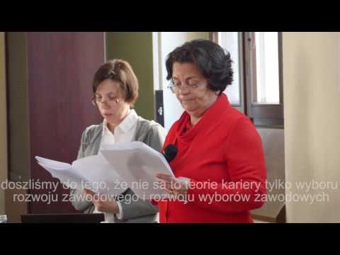 Poradnictwo kariery w XXI w. / Career Consueling in 21st c., prof. Maria Duarte (Lizbona)