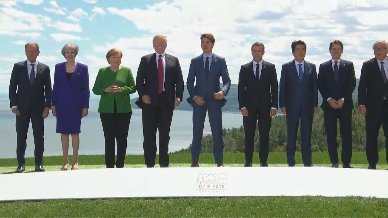«Απίθανο» να εκδοθεί τελικό ανακοινωθέν των G7 λόγω των διαφωνιών των έξι χωρών με τις ΗΠΑ