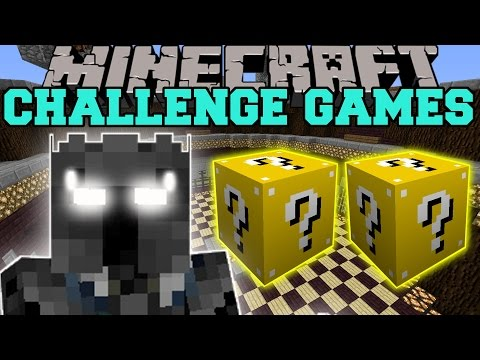 Minecraft: POPULARMMOS CHALLENGE GAMES - Lucky Block Mod - Modded Mini-Game
