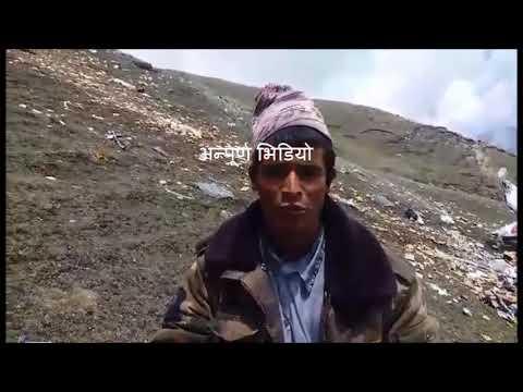(makalu air plane crash humla annapurnapost, video - Duration: 86 seconds.)