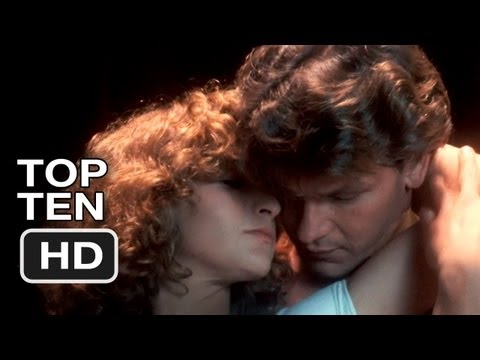Top Ten - Patrick Swayze in Dirty Dancing (1987) - HD Movie Video