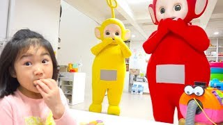 Video 텔레토비 친구들이 놀러왔어요~ 인기동요 Learn Colors with Teletubbies Johny Johny Yes Papa Song and Nursery Rhymes MP3, 3GP, MP4, WEBM, AVI, FLV Januari 2019