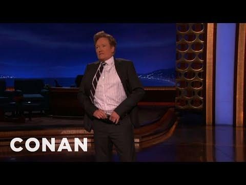 Conan - Flashes His Huge Bruise