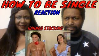 Hannah Stocking - How To Be Single | REACTION