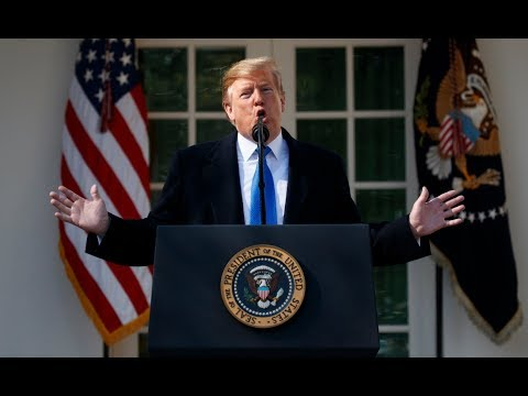 Trump declares national emergency over border wall