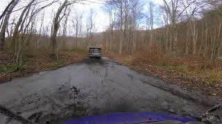 10. HONDA PIONEER 700 DELUXE DRIVEN BY MUDD MAN WITH 1000-5 FOLLOWING GOPR5975