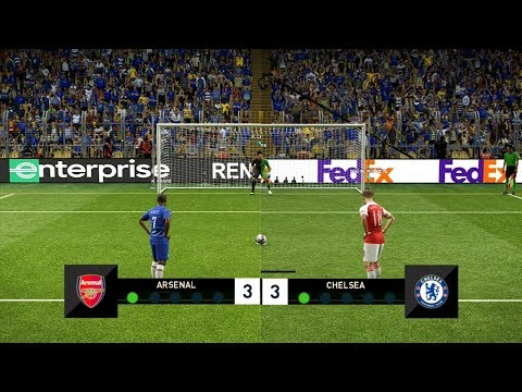 Arsenal vs Chelsea | Penalty Shootout |  EUROPA LEAGUE FINAL 2019